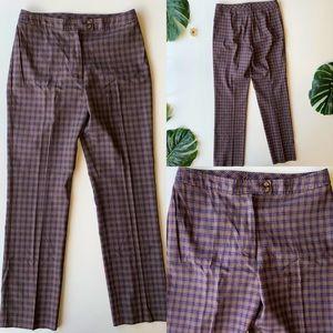 Ann Taylor LOFT 8 NWOT Plaid Trousers